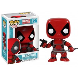 Marvel Comics Funko POP! Vinyl Wackelkopf-Figur Deadpool (10 cm)