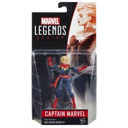"Marvel Legends Captain Marvel 3.75"" (10 cm)"