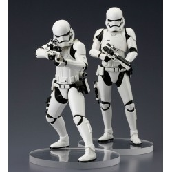 Star Wars Episode VII ARTFX+ Statuen-Doppelpack First Order Stormtrooper (18 cm)