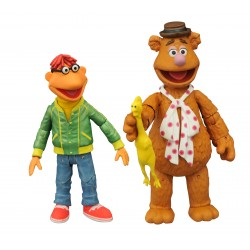 The Muppets Select Fozzie mit Scooter