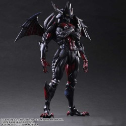 Play Arts Kai Monster Hunter 4 Ultimate Variant Actionfigur Diablos Armor (Rage Set) (28 cm)