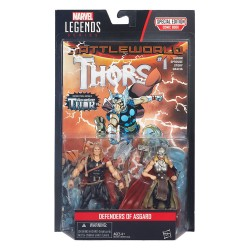 "Marvel Legends Doppelpack Defenders of Asgard (Young Thor & Female Thor) 3.75"" (10 cm)"