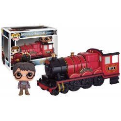 Harry Potter Funko POP! Vinyl Fahrzeug mit Figur Hogwarts Express Engine & Harry Potter (10 cm)