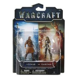 Warcraft Mini Figuren Doppelpack Garona & Lothar Civilian (6 cm)