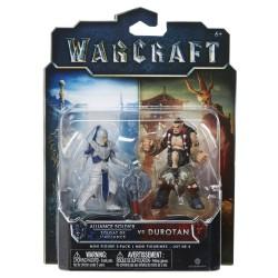 Warcraft Mini Figuren Doppelpack Durotan & Allianz Soldat (6 cm)