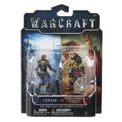 Warcraft Mini Figuren Doppelpack Lothar & Horde Krieger (6 cm)