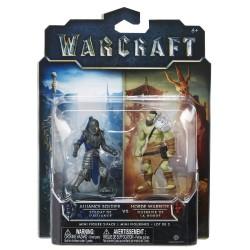 Warcraft Mini Figuren Doppelpack Allianz Soldat & Horde Krieger (6 cm)