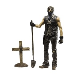 The Walking Dead TV Version Series 9 Grave Digger Daryl Dixon (Dirt Version) (13 cm)