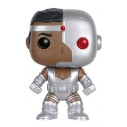 DC Comics Funko POP! Heroes Vinyl Figur Cyborg (10 cm)