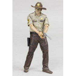 The Walking Dead TV-Version Serie 7 Rick Grimes (13 cm)