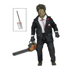 Texas Chainsaw Massacre 2 Retro Actionfigur 30th Anniversary Leatherface (20 cm)