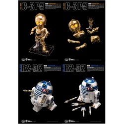 Star Wars Egg Attack Actionfiguren Doppelpack R2-D2 & C-3PO (Episode V) (10-15 cm)
